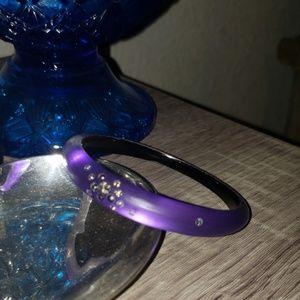 Alexis Bittar purple crystal bracelet